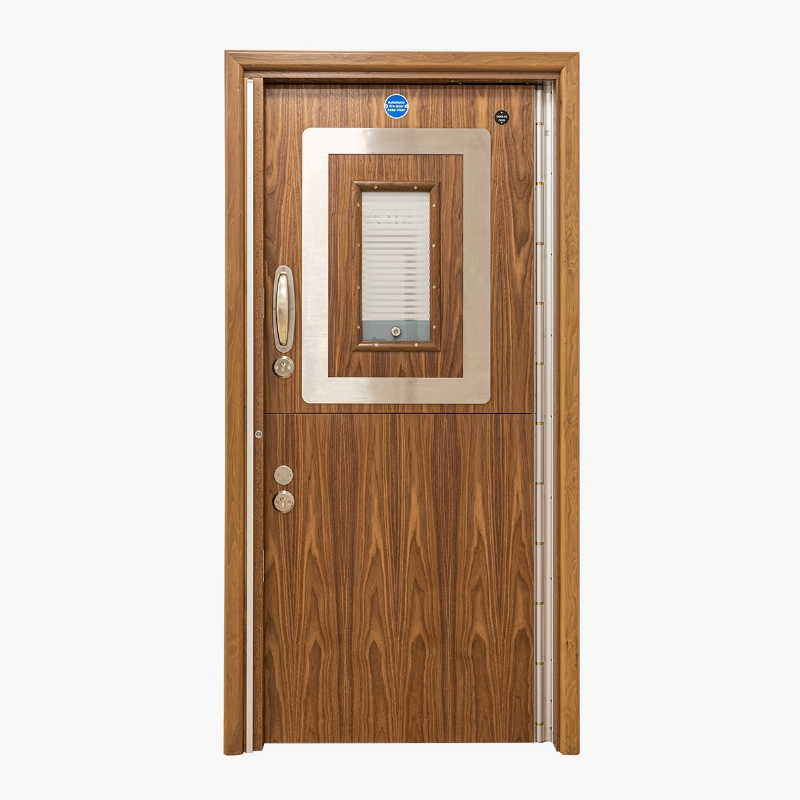 Stable split leaf doorset for mental health