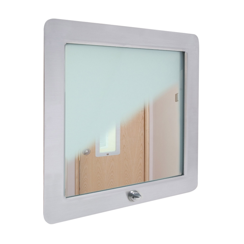 Duralux Platinum switchable vision panel 405x405mm