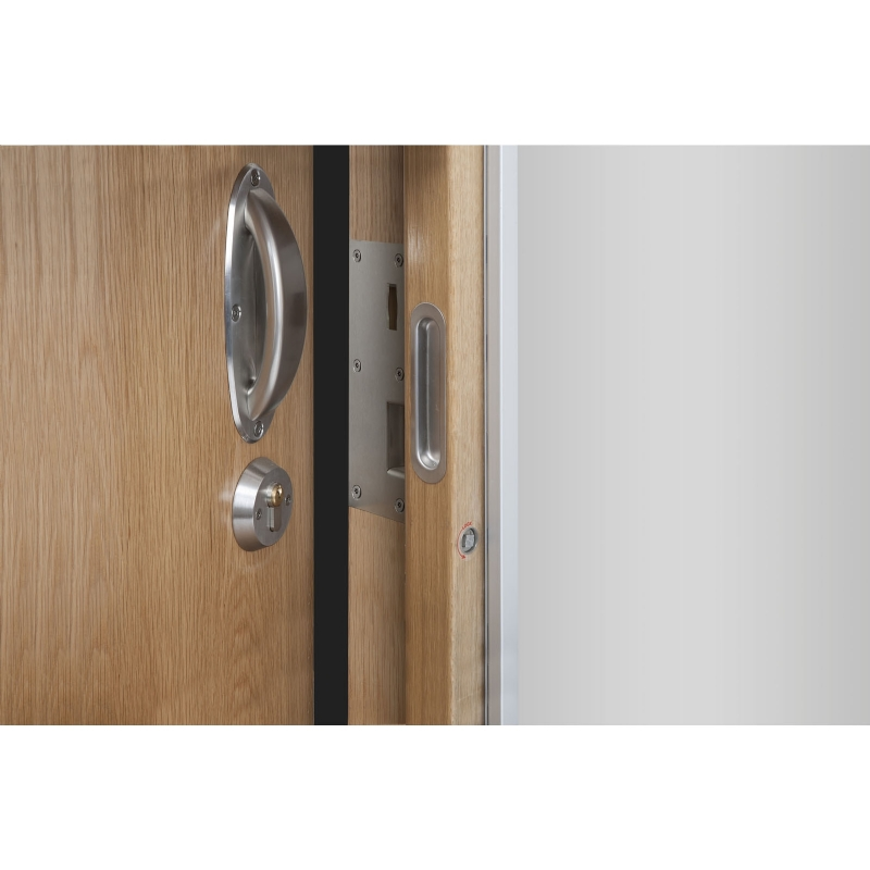 Door Strike Plate for Mental Health Anti-Ligature Anti-Barricade