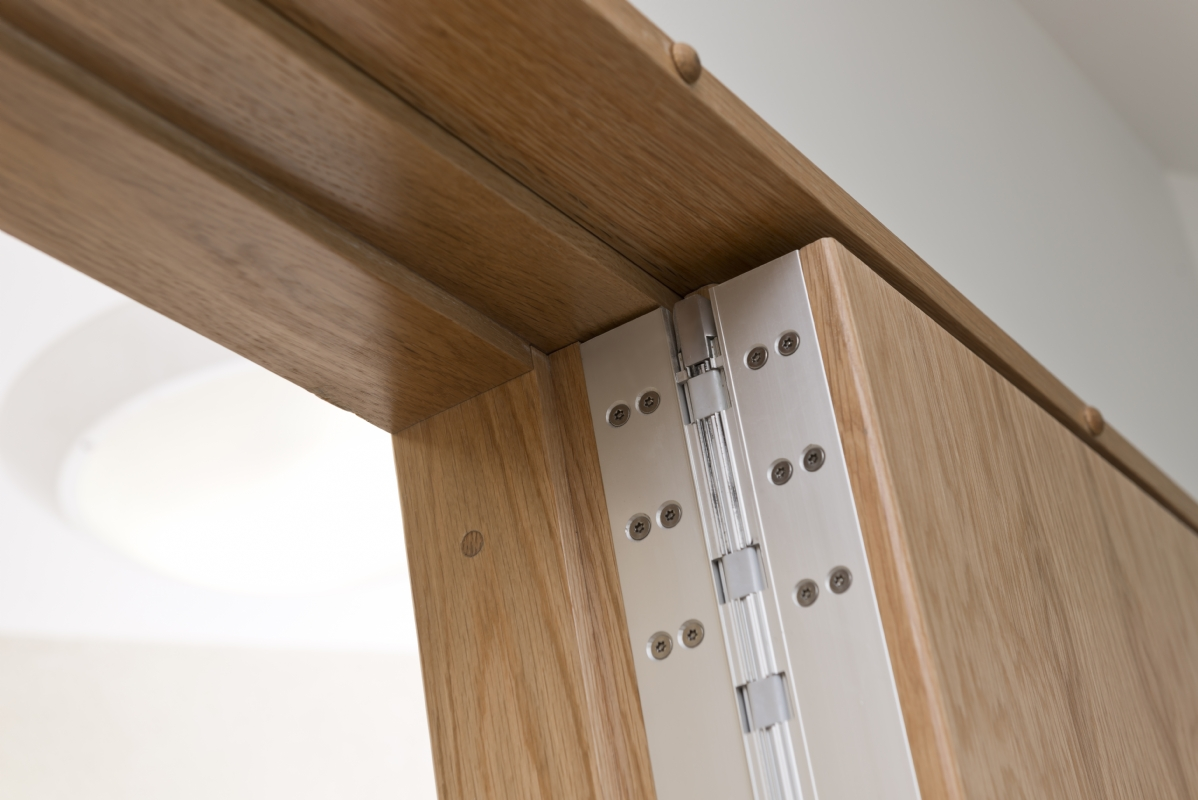 Door Continuous Hinge for Mental Health Anti-Ligature Anti-Barricade