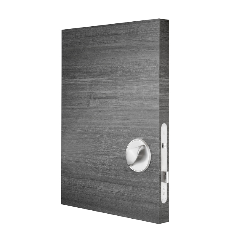 KG1200 Anti-ligature bedroom lockset with override - patient side