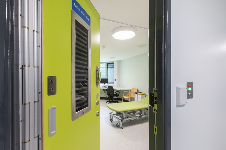 Mental Health Doorsets for Austen House