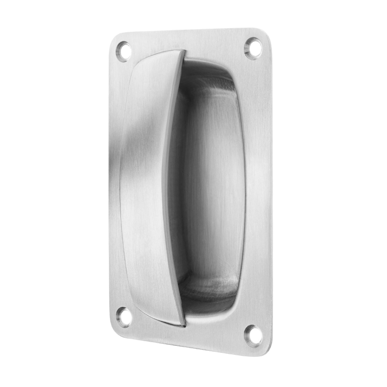 KG70 Anti-Ligature Pull Handle Single Recessed Face Fix