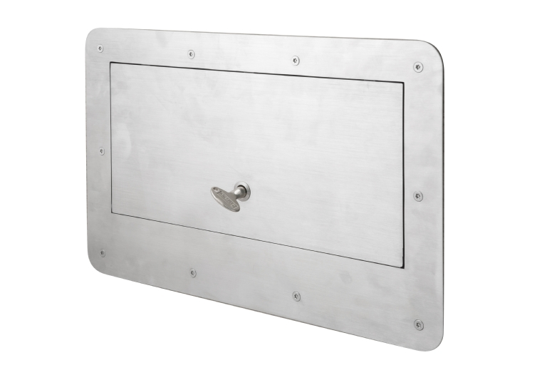 KG165 Secure Tray Hatch With 3-Point Lock