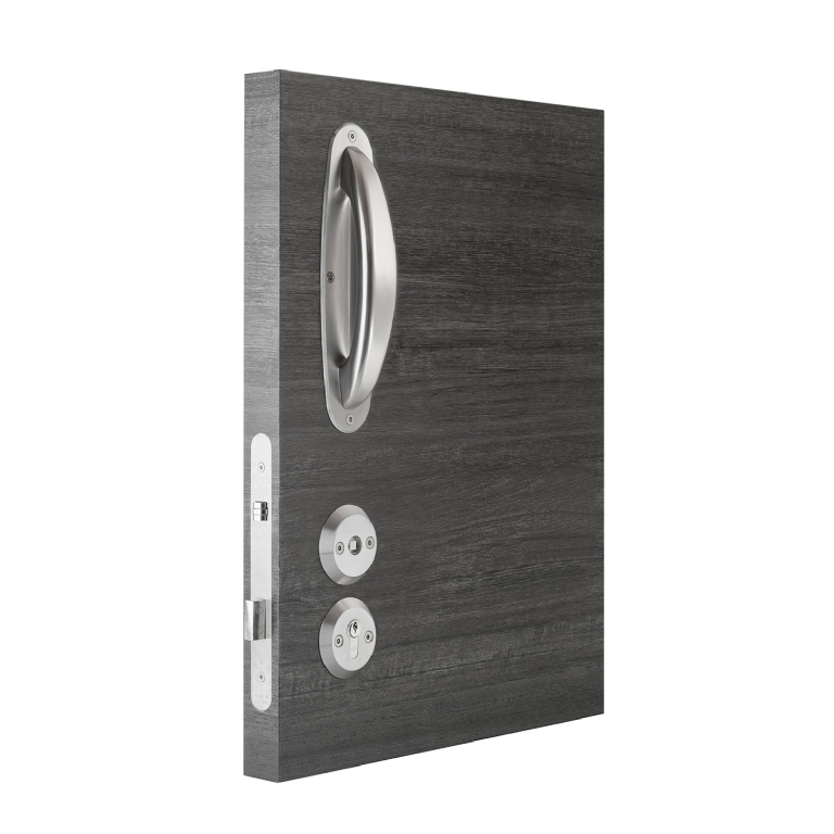 KG1200 Bedroom Lockset With Secondary Override