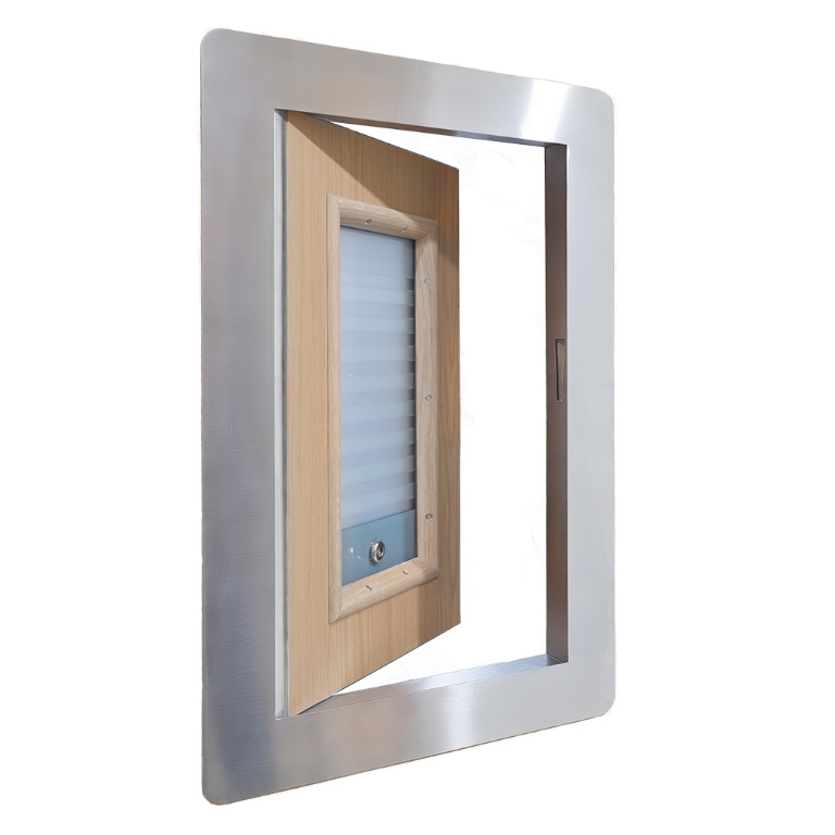 KG171 Clinic Room Hatch with Vision Panel